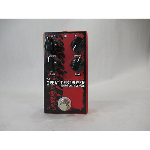 The Great Destroyer Distortion Effect Pedal