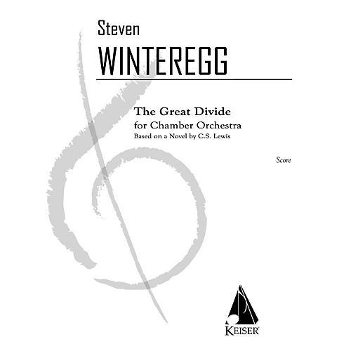 Lauren Keiser Music Publishing The Great Divide for Chamber Orchestra LKM Music Series by Steven Winteregg