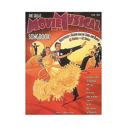 Hal Leonard The Great Movie Musical Piano/Vocal/Guitar Songbook