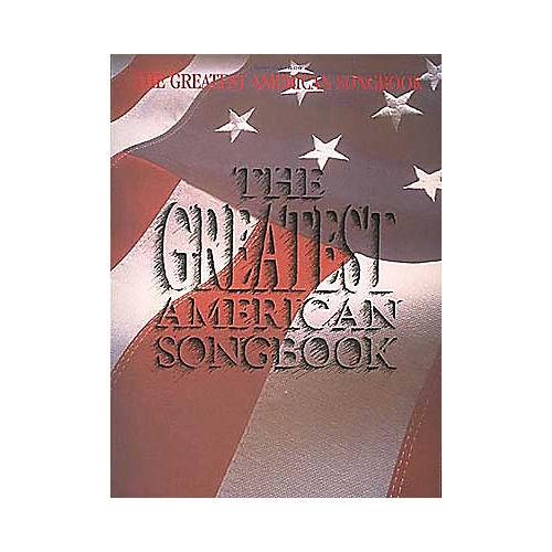 Hal Leonard The Greatest American Songbook Piano/Vocal/Guitar Songbook