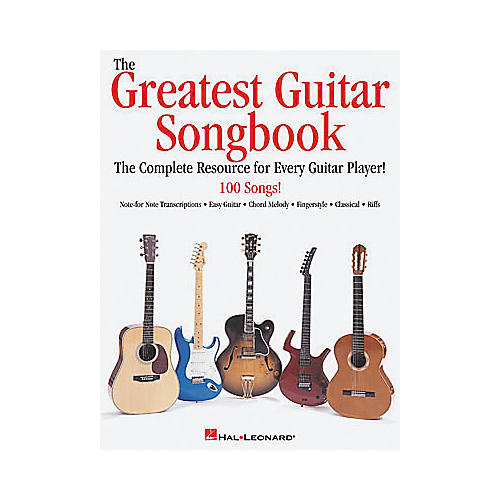 Hal Leonard The Greatest Guitar Tab Book