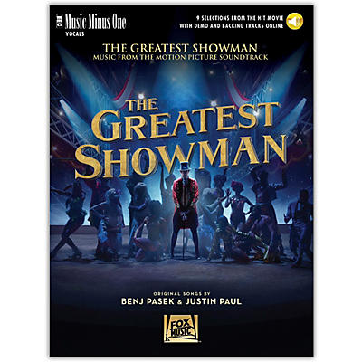 Music Minus One The Greatest Showman - Music Minus One Vocal Book/Online Audio
