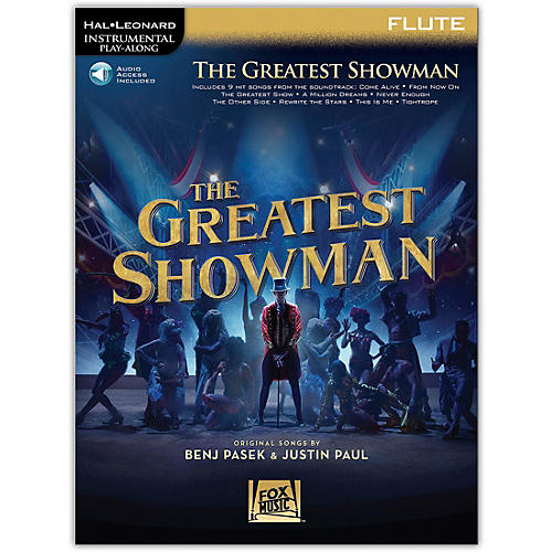 Hal Leonard The Greatest Showman Instrumental Play-Along Series for Flute Book/Online Audio