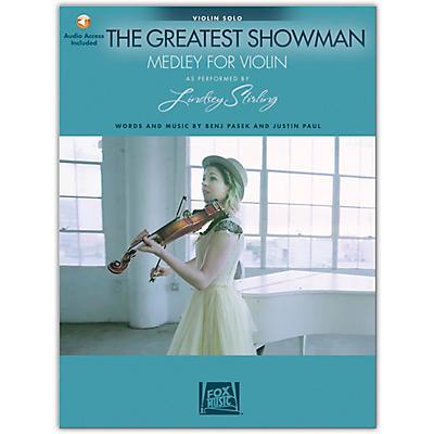 Hal Leonard The Greatest Showman: Medley for Violin Arranged by Lindsey Stirling Book/Audio Online