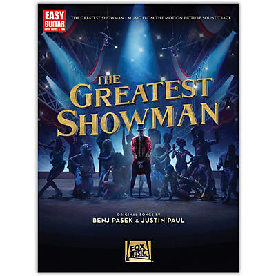 Hal Leonard The Greatest Showman (Music from the Motion Picture Soundtrack) for Easy Guitar Tab