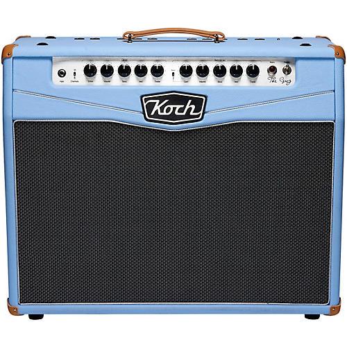 Koch The Greg Koch Signature 50W 2x10 Tube Guitar Combo Amp Blue