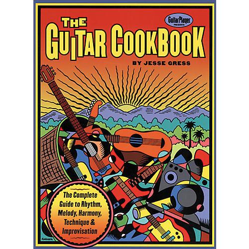 Hal Leonard The Guitar Cookbook Book