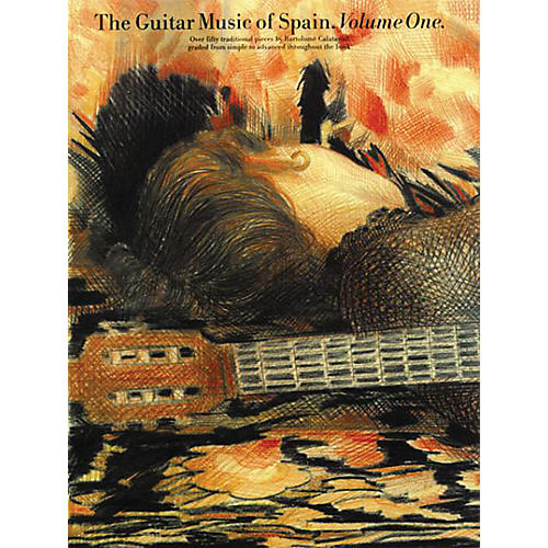 Music Sales The Guitar Music of Spain - Volume 1 Music Sales America Series Softcover