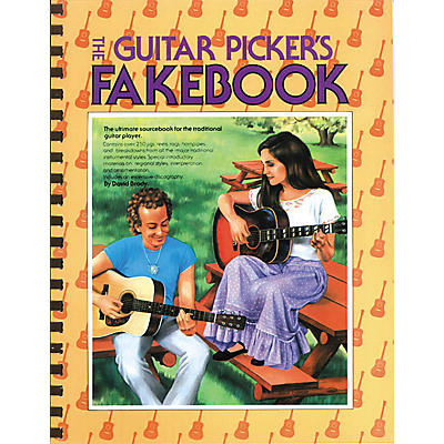 Music Sales The Guitar Picker's Fakebook Music Sales America Series Softcover