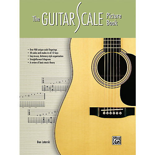 Alfred The Guitar Scale Picture Book