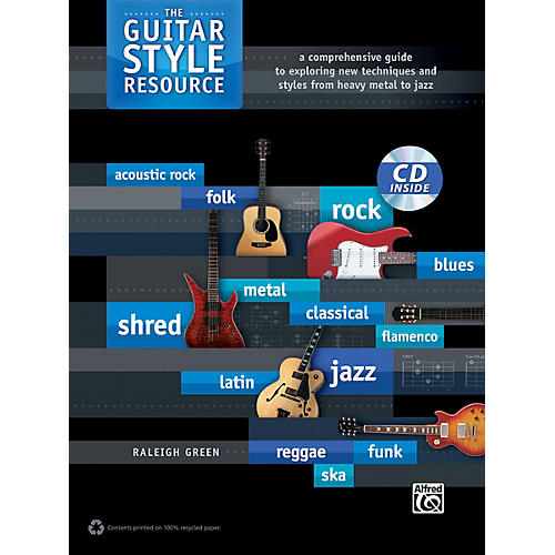 Alfred The Guitar Style Resource Book & CD