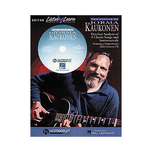 Homespun The Guitar of Jorma Kaukonen (Book/CD)