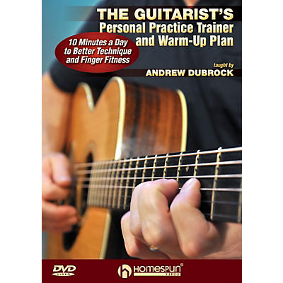 Homespun The Guitarist's Personal Practice Trainer and Warm-Up Plan Homespun Tapes Series DVD by Andrew DuBrock