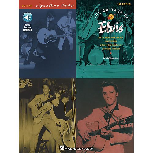 Hal Leonard The Guitars of Elvis - 2nd Edition Signature Licks Guitar Series Softcover Audio Online by Wolf Marshall