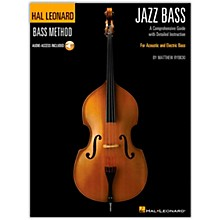 Hal Leonard The Hal Leonard Jazz Bass Method Book/ Audio Online