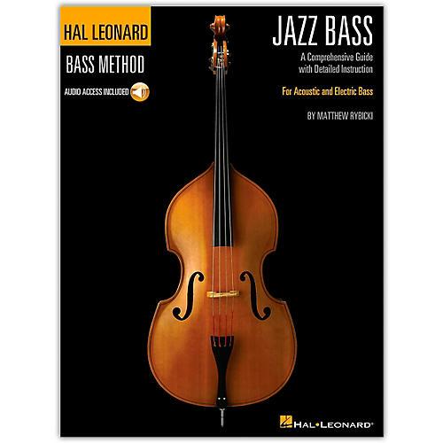 Hal Leonard The Hal Leonard Jazz Bass Method Book/ Audio Online