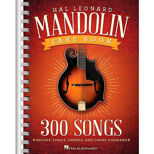 Hal Leonard The Hal Leonard Mandolin Fake Book