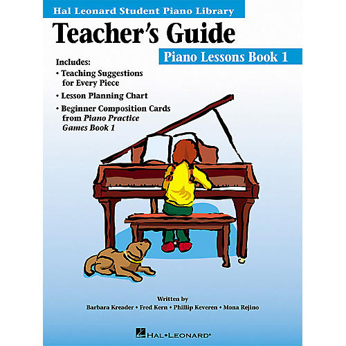 Hal Leonard The Hal Leonard Student Piano Library Teacher's Guide Educational Piano Library Book by Various Authors