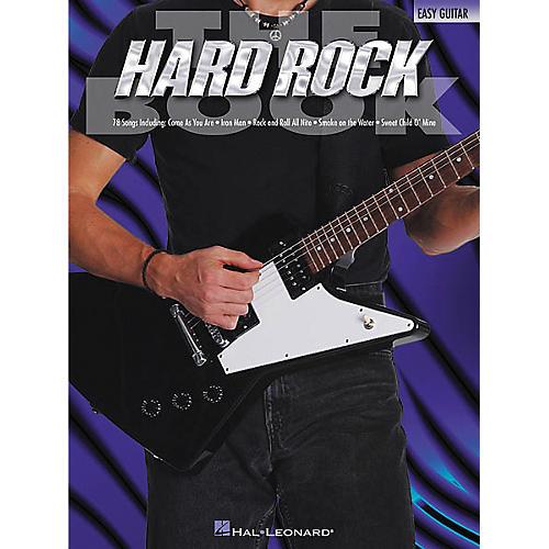 Hal Leonard The Hard Rock Easy Guitar Tab Songbook
