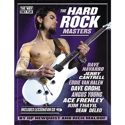 Backbeat Books The Hard Rock Masters Book