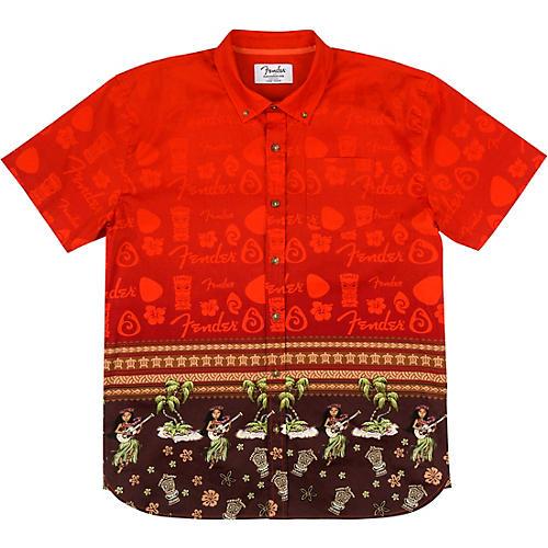 Fender The Hawaiian Button Up Shirt Small