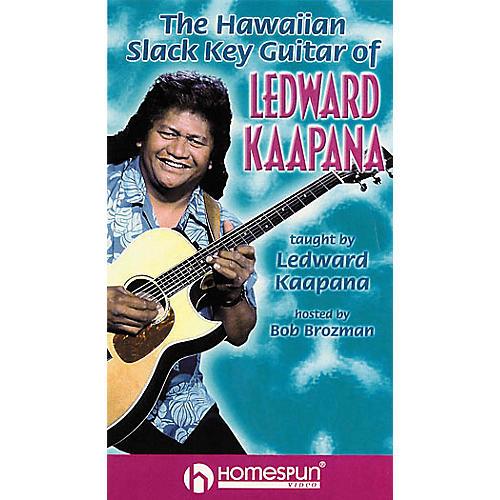 Homespun The Hawaiian Slack Key Guitar of Ledward Kaapana (Video)