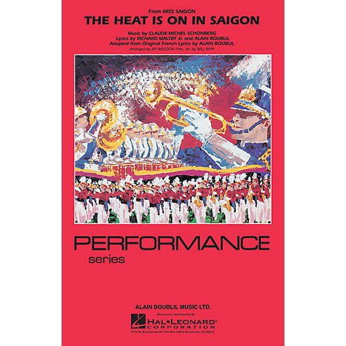 Hal Leonard The Heat Is On in Saigon Marching Band Level 4 Arranged by Jay Bocook