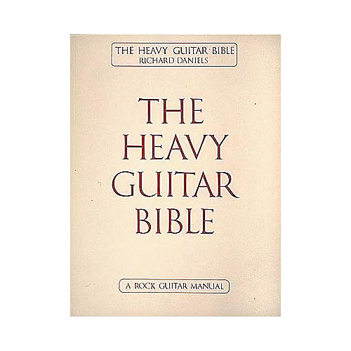 Cherry Lane The Heavy Guitar Bible Book
