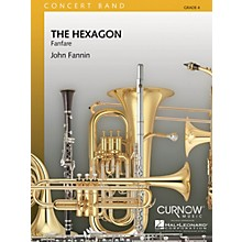 Curnow Music The Hexagon (Grade 4 - Score Only) Concert Band Level 4 Composed by John Fannin