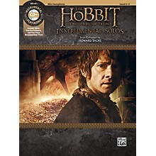 Alfred The Hobbit - The Motion Picture Trilogy Instrumental Solos Alto Sax Book & CD Level 2-3 Songbook