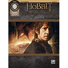 Alfred The Hobbit - The Motion Picture Trilogy Instrumental Solos Tenor Sax Book & CD Level 2-3 Songbook