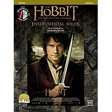Alfred The Hobbit: An Unexpected Journey Instrumental Solos Clarinet (Book/CD)