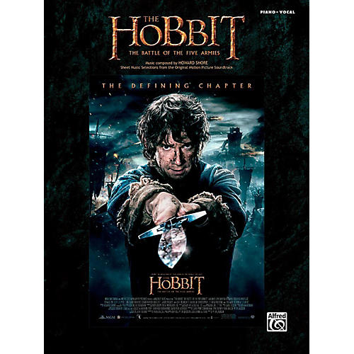 Alfred The Hobbit: The Battle of the Five Armies - Piano/Vocal Songbook