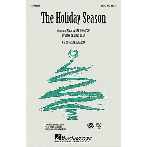 Hal Leonard The Holiday Season SSA Arranged by Kirby Shaw