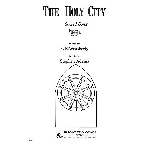 Music Sales The Holy City High D Flat Music Sales America Series