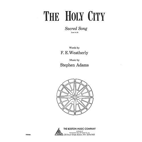 Music Sales The Holy City Low A Flat Music Sales America Series