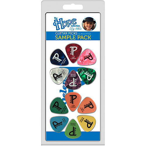 Perri's The Hope Collection Variety Guitar Pick Pack- 12pc 12 Pack