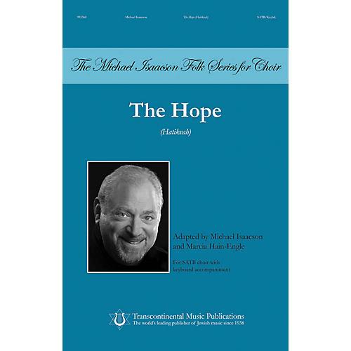 Transcontinental Music The Hope (Hatikvah) SATB