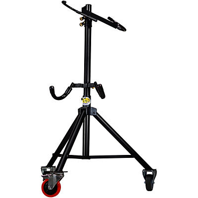 Tuba Essentials The Hug Adjustable Tuba Stand for 3/4 Size Right Side Mouthpiece Instruments