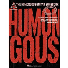Hal Leonard The Humongous Guitar Songbook Tab Book