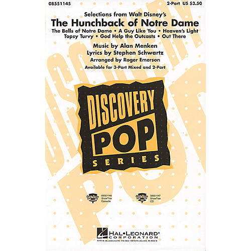 Hal Leonard The Hunchback of Notre Dame (Medley) ShowTrax CD Arranged by Roger Emerson