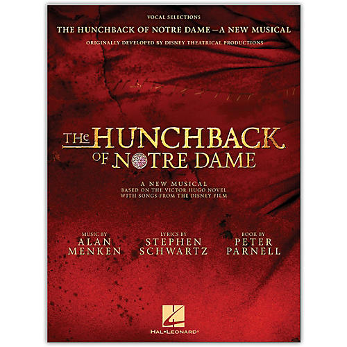 Hal Leonard The Hunchback of Notre Dame: The Stage Musical Vocal Selections