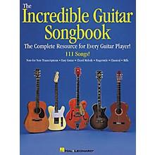Hal Leonard The Incredible Guitar Songbook Book