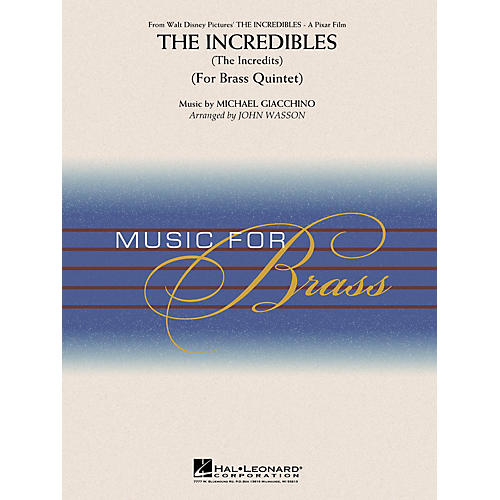 Hal Leonard The Incredibles from Walt Disney Pictures' The Incredibles Concert Band Level 3-4 by John Wasson