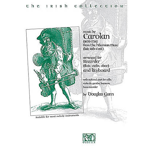 Music Sales The Irish Collection - Music by O'Carolan (from The Hibernian Muse) Music Sales America Series