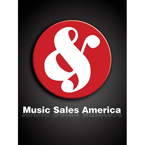 Music Sales The Israelites Music Sales America Series
