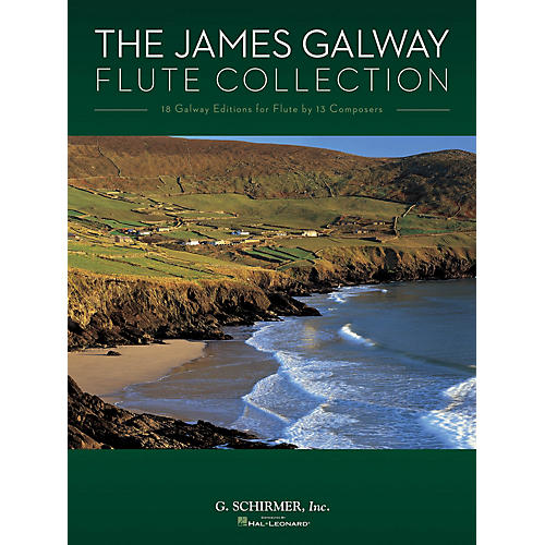 G. Schirmer The James Galway Flute Collection Woodwind Solo Series Softcover