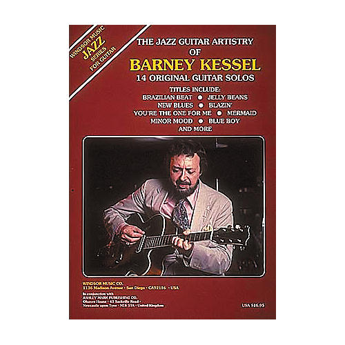 Ashley Mark The Jazz Guitar Artistry of Barney Kessel Tab Songbook