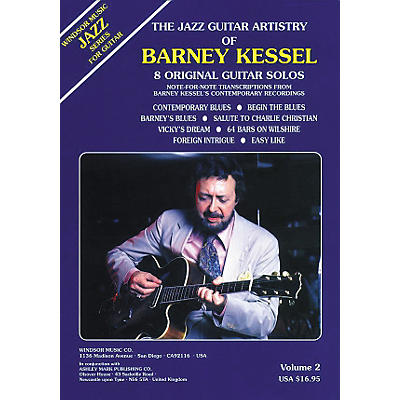 Ashley Mark The Jazz Guitar Artistry of Barney Kessel Volume 2 Tab Book