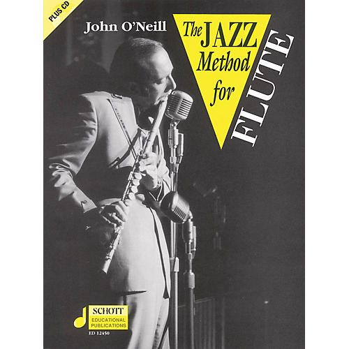 Schott The Jazz Method for Flute Schott Series Softcover with CD